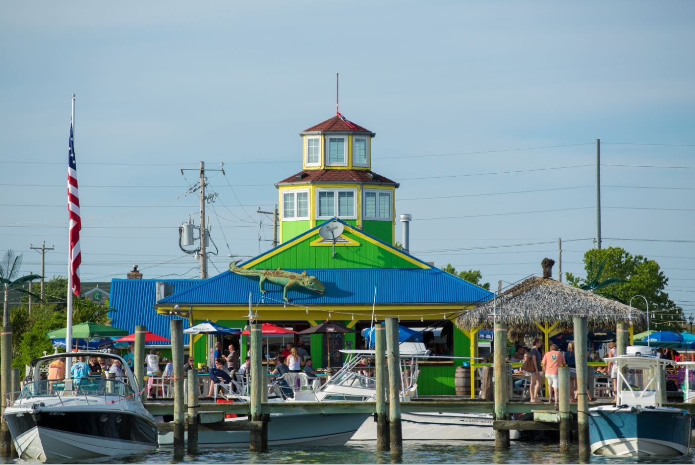 The Jetty Dock Bar - Kent Narrows Waterfront
