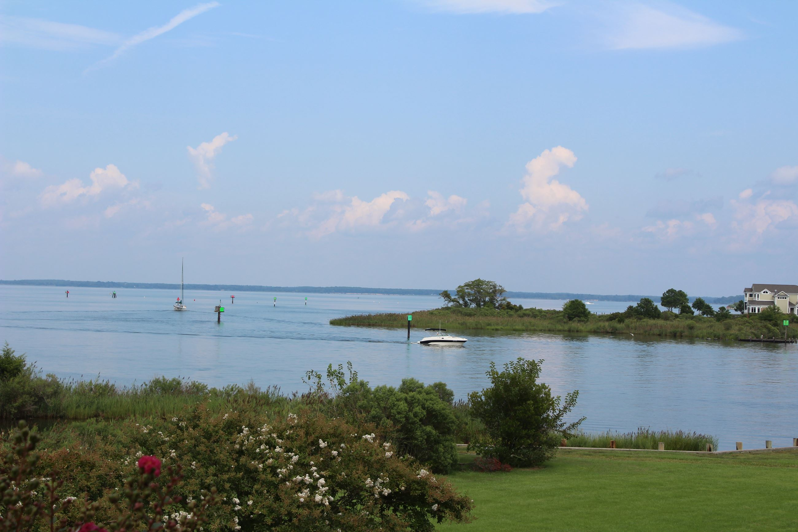 View from Chesapeake Heritage & Visitors Center