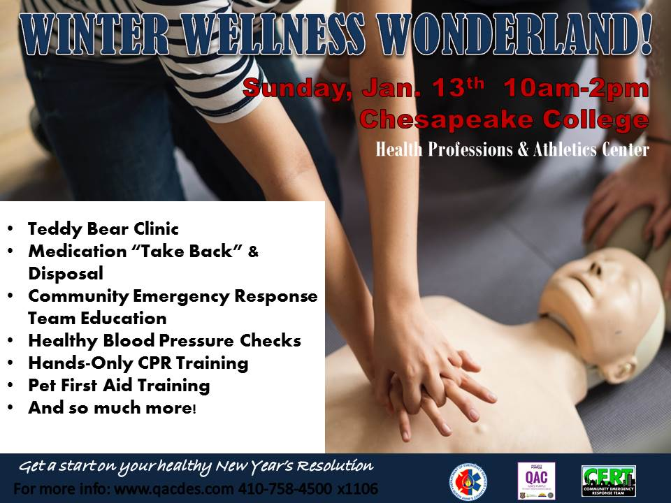 Winter wellness wonderland cpr