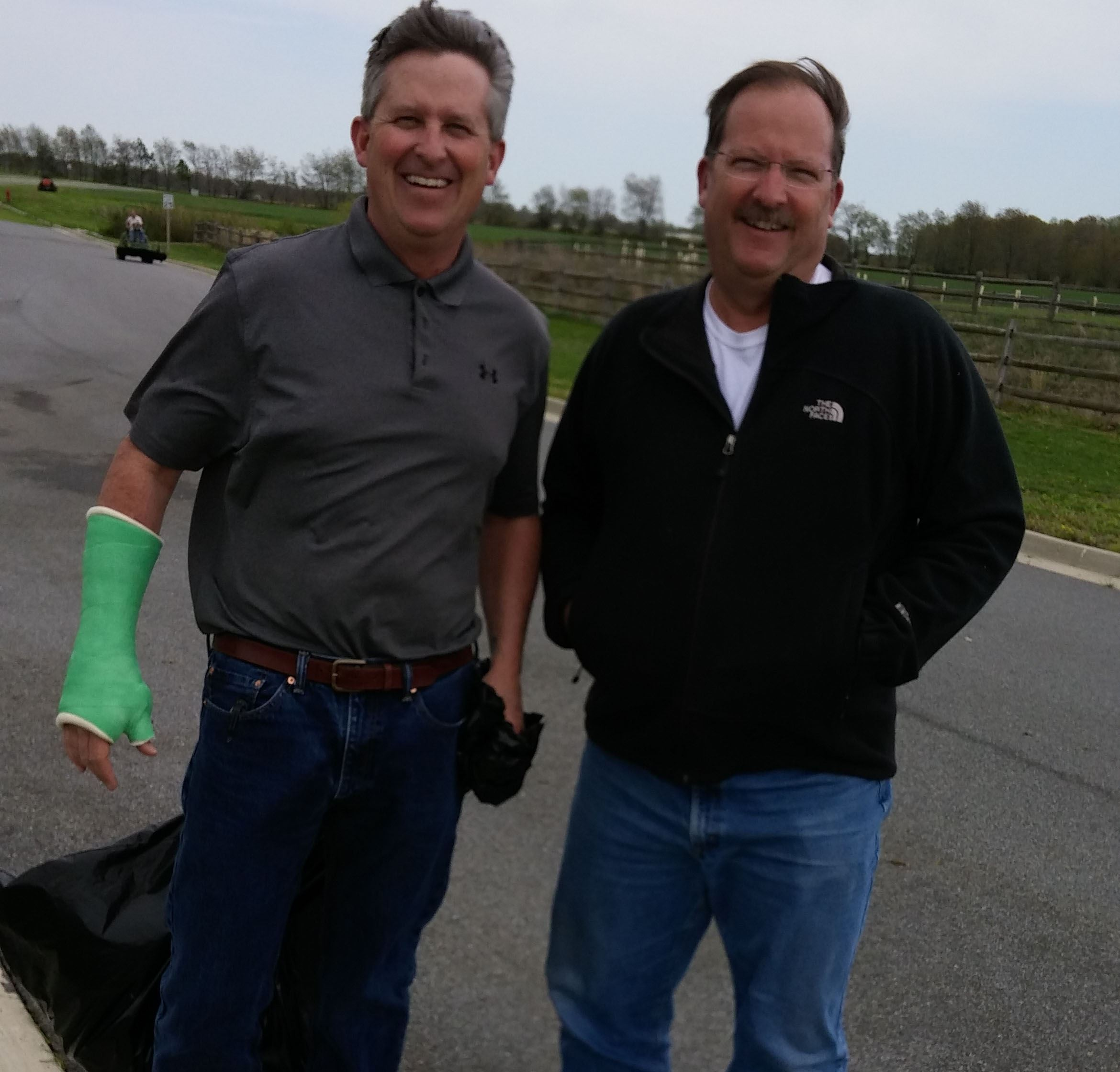 Gregg and Jim Earth Day SMS 2015