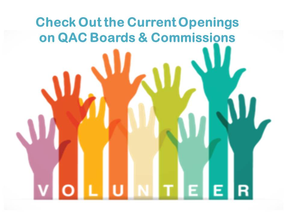 Check Out the Current Openings Board and Commissions