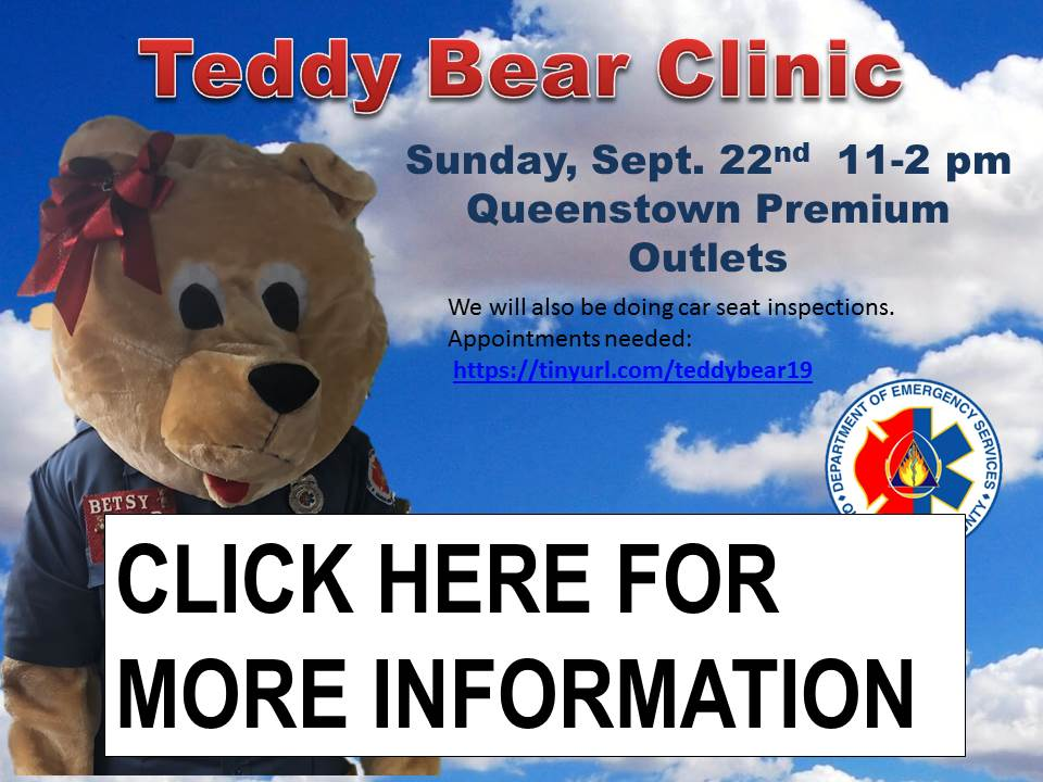 teddy bear clinic WEBSITE .2019