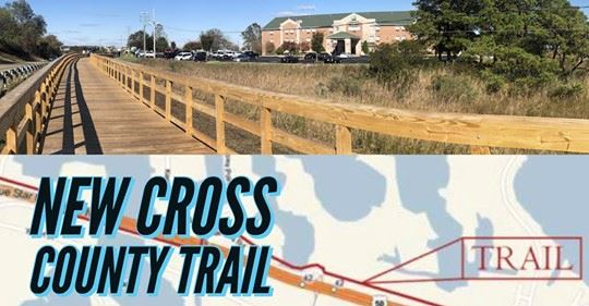 Cross County Connector Trail Open
