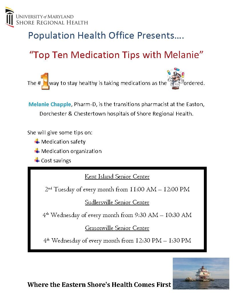 Med Presentation Flier (ongoing starting Feb. 2020)