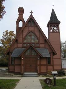 A historic church in Stevensville