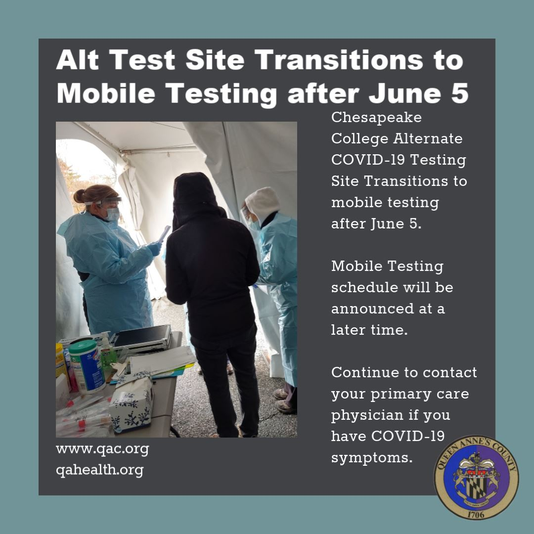 Alt Test Site Transition