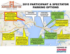 2015 10K Parking Map for print media