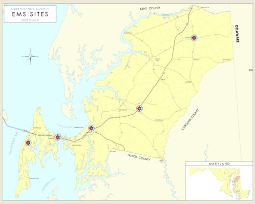 QAC EMS Facilities Map