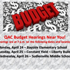FY18 Budget Hearings Near You!