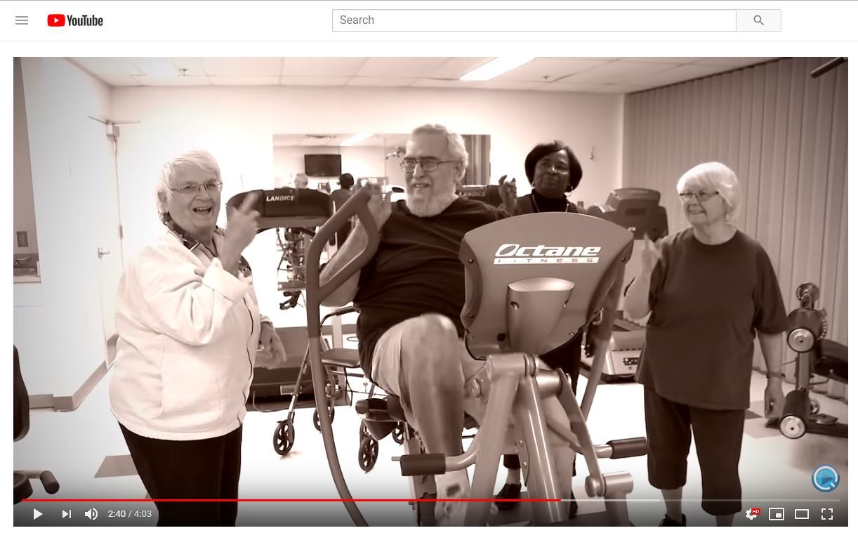 youtube senior centers