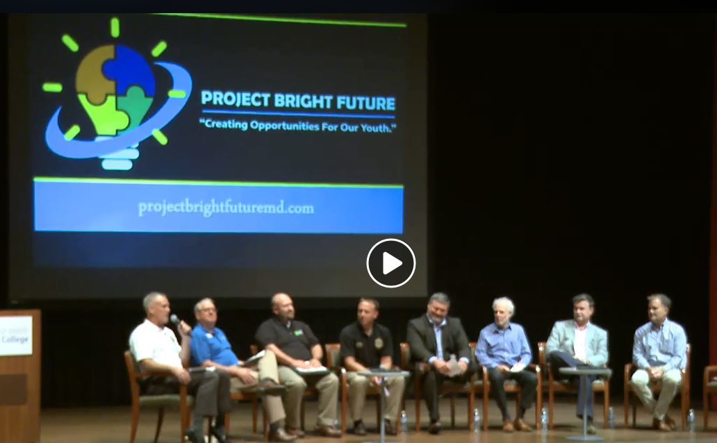 Project Bright Future on stage